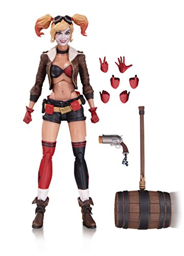 DC Direct Bombshells Figurine Harley Quinn, 17 cm