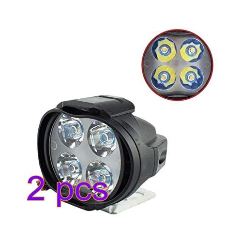 12W LED Motorrad Licht Nebelscheinwerfer Wasserdicht Scheinwerfer Tagfahrlicht Standlicht