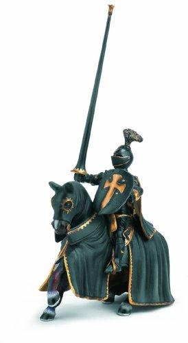 SCHLEICH 70032  - Schwarzer Ritter auf Pferd