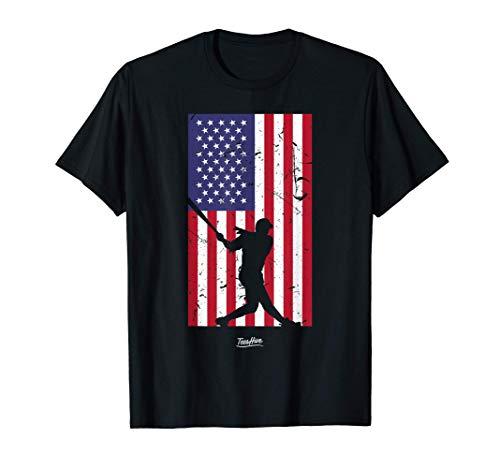 American Flag Baseball Shirt for Men Women Boys Girls Kids T-Shirt
