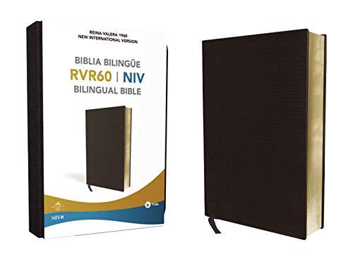Reina Valera 1960/New International Version, Biblia Bilingüe, Leather-Look, Negro (Spanish Edition)