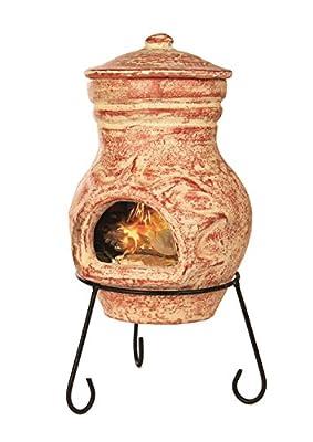 Premier Decorations Bh151105 51 X 25 Cm Chimnea Burner - Terracotta from Premier Decorations