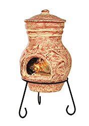 Premier Decorations BH151105 51 x 25 cm Chimnea Burner - Terracotta