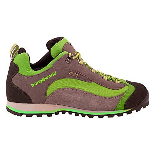 Trango SHANGU, Zapatos de Escalada Unisex Adulto, Gris (Gris/Verde Claro 003), 43 EU