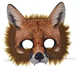 VENTURA TRADING AM12 Máscara de zorro Mascarilla de zorro Mascara veneciana Mascarada Fiesta Máscara de animal