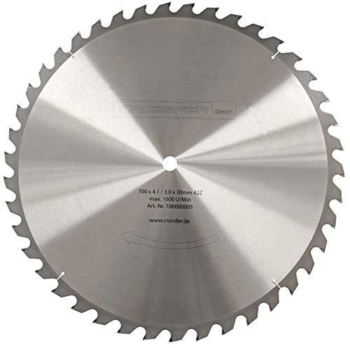 Kreissägeblatt 700mm Hartmetall bestückt 42Z Grobschnitt für Wippsägen