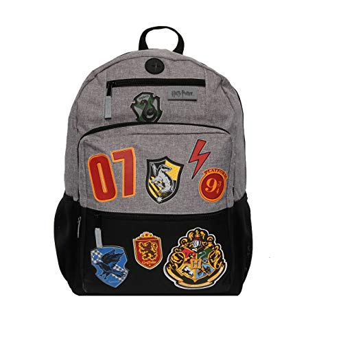 HARRY POTTER 18' Hogwarts School Kids' Backpack - Black