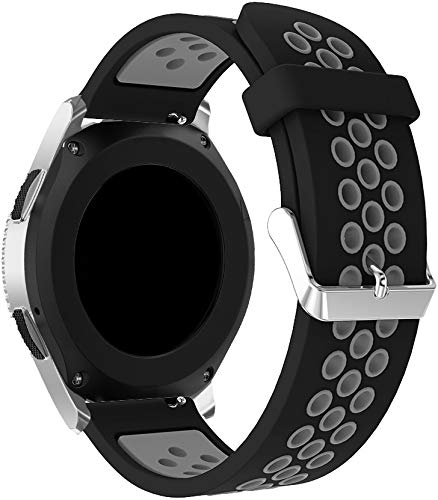 Correa de Reloj de Silicona Suave Compatible con Polar Ignite/Polar Unite, Repuesto Ideal (20mm, Pattern 6)