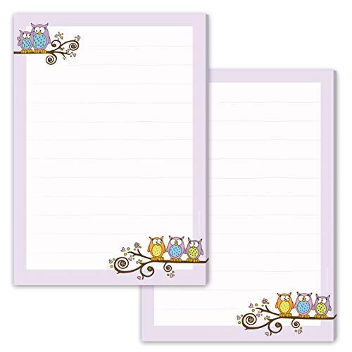 2 Schreibblöcke / Briefpapier Blöcke