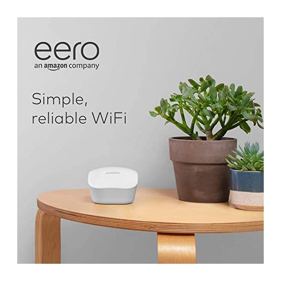 Amazon eero mesh wifi router 9 fast standalone router - the eero mesh wifi router brings up to 1,500 sq. Ft. Of fast, reliable wifi to your home. Works with alexa - with eero and an alexa device (not included) you can easily manage wifi access for devices and individuals in the home, taking focus away from screens and back to what's important. Easily expand your system - with cross-compatible hardware, you can add eero products as your needs change.