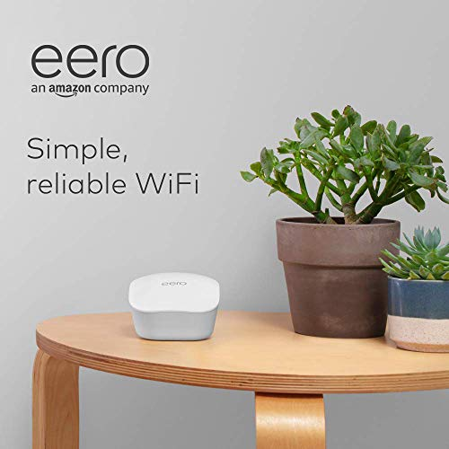 Amazon eero mesh WiFi system – router replacement for whole-home coverage (3-pack + 1-pack)