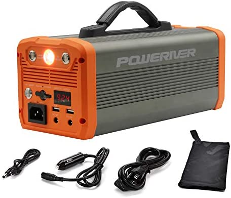 Portable Power Station Solar Generator 300 222Wh Electric Generator 110V General AC Outlet 12V product image