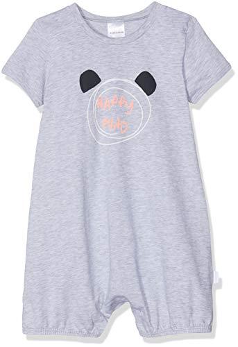 Schiesser Baby-Jungen Spieler 1/2 Zweiteiliger Schlafanzug, Grau (Grau-Mel. 202), 74 (Herstellergröße: 074)