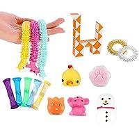 そわそわおもちゃ感覚抗ストレスおもちゃパックポップセット自閉症ストレスリリーフおもちゃ子供大人教育プッシュバブル面白いおもちゃ (Color : No. 11)