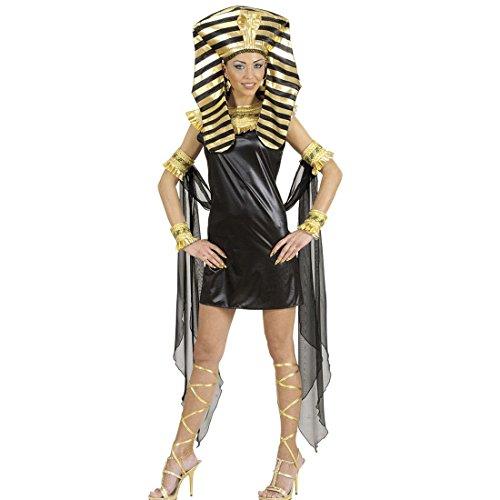 Amakando Disfraz de faraonina egipcia antigua, talla L 42/44, juego completo de...