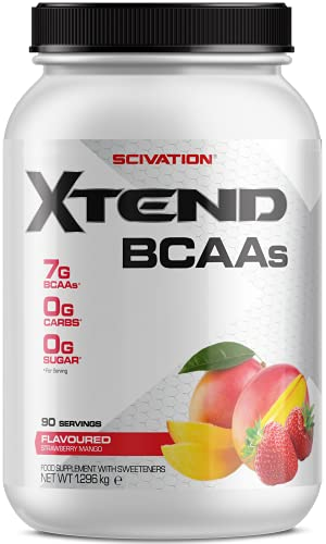 XTEND Original BCAA Powder, Strawberry Mango