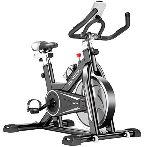 Review HOIHO Home Exercise Bike Indoor Fitness Cycling,2019 New Adjustable Magnetic Resistance Car...