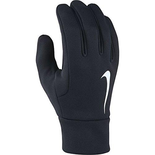 Nike Erwachsene Hyperwarm Spielerhandschuhe, Black/White, M