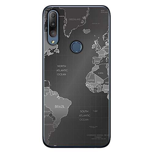 Capa Personalizada Asus Zenfone Max Shot ZB634KL - Mapa Mundi - MC01