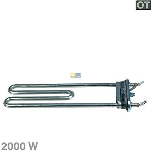 ORIGINAL Heizung Heizelement Heizstab 2000W Waschmaschine Bosch Siemens 652573