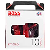 アンプ配線キット 10ゲージ KIT-ZERO Boss KITZERO Complete 10 Gauge Amplifier Installation Kit 【並行輸入品】