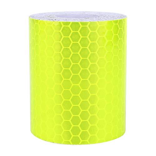 Fiween Gelb Gebrauchtwagen LKW Anhänger Hochreflektive Band, Rollen warnende Band Fluorescent Sicherheit Reflektierende Aufkleber