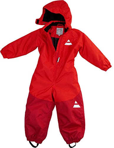Maylynn Outdoor Schneeanzug rot atmungsaktiv wasserdicht 5000mm, Größe:98