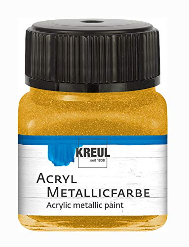 C.KREUL Hobby Line Acryl Metallicfarbe 20 ml Gold