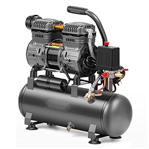 WUK Compresor de Aire Bomba de Aire portátil 12/30 / 60L Sin Aceite Silencioso 850 / 1490W para reparación del hogar Herramientas neumáticas de Pintura en Aerosol para inflar neumáticos industriales