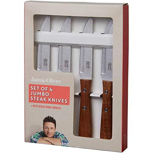 Jamie Oliver 556898 Steakmesser, Akazie