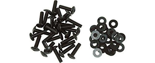 USA Made B00R9XUWKY RackGold 10-32 Rack Screws 100 Pack W//Washers