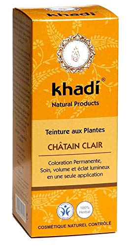 Khadi - Coloration Végétale Châtain Clair Cuivré - 100G Bio