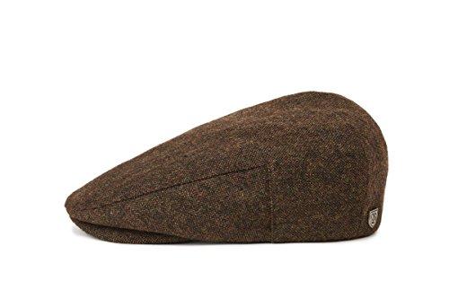 BRIXTON Headwear Hooligan SNAP Cap, Dunkel Braun, XS, 00005