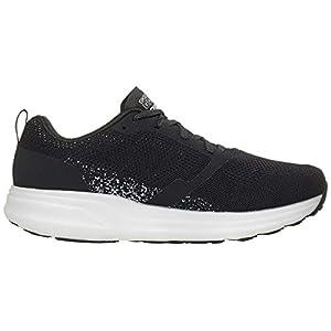 Skechers Go Run Ride 8 Hyper Running Shoe, Black/White - 9 M US