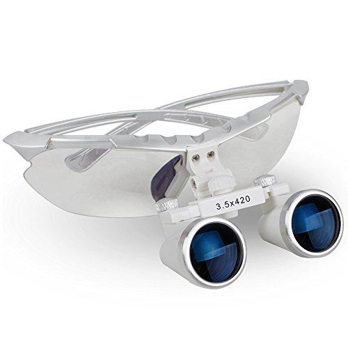 Why Should You Buy WANGJUN Den-tal Binocular Loupes 3.5X 420mm Portable Optical Loupe Glasses Loupe ...