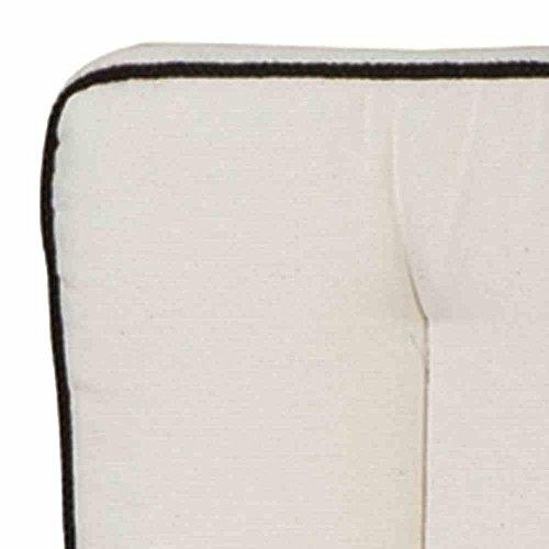 MBM 156153 Auflage Romeo Elegance für Sessel, Siz- und Rückenkissen, natur