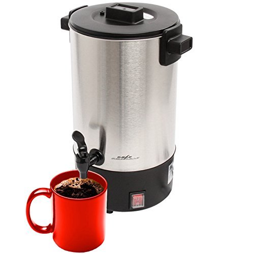 Cafe Amoroso 30 Cup Commercial Electric Coffee Maker Urn