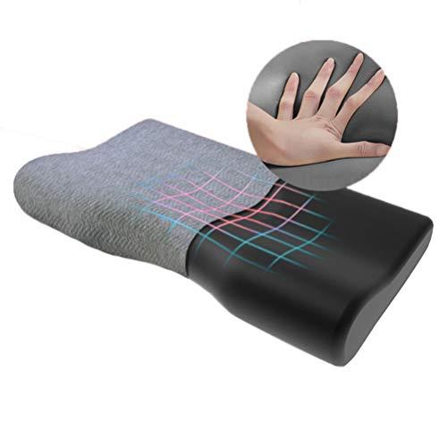 Duan hai rong DHR- Antischnarchkissen Memory-Foam-Kissen, Bambuskohle Ergonomische Deep Sleep Contour Bett-Kissen, Orthopädische Cervical Kissen for Schlafen, Entlasten Nacken- und Schulterschmerzen