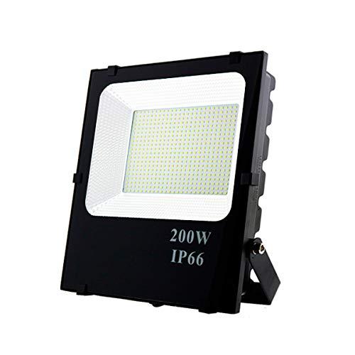 LEDUNI Foco Proyector Floodlight LED Exterior 200W Chips OSRAM IP65 Impermeable Luz...