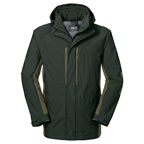 Jack Wolfskin Brooks Range Jacket Men Spruce