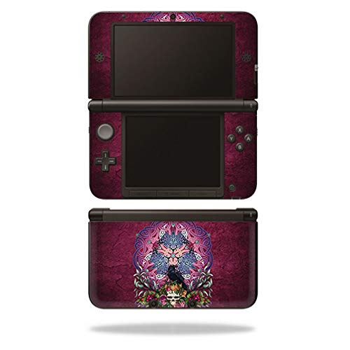 MightySkins Skin Compatible with Nintendo 3DS XL Original (2012-2014) - Celtic Raven   Protective, Durable, and Unique Vinyl wrap Cover   Easy to Apply, Remove, and Change Styles   Made in The USA