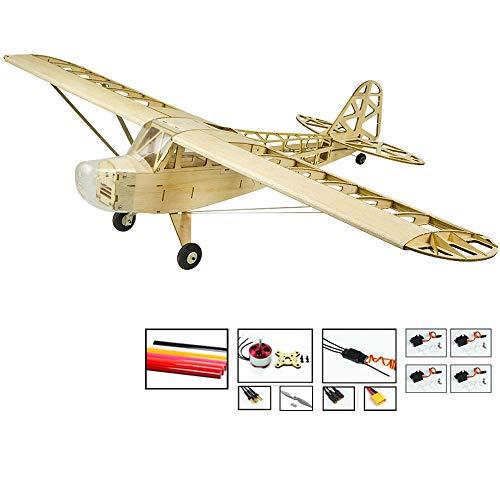 Upgrade RC Plane Kit Piper Cub J3 Model Aircraft, 47
