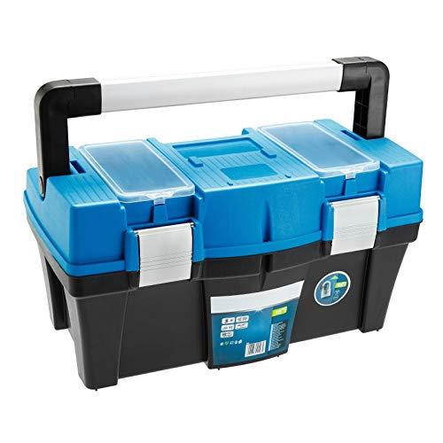 SECOTEC® Werkzeugkoffer Werkzeugkiste Werkzeugbox Werkzeugkasten Werkzeug Organizer 18'