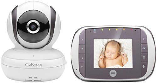Motorola MBP35S- Digital Video Baby Monitor, White Monitors