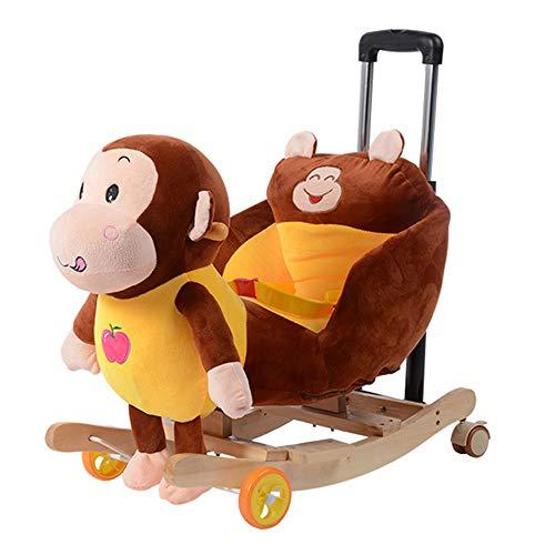 WangXN – begin – onderwijs – motief – dubbel gebruik – solide gebruik van hout – schommelpaard – schommelstoel – 4-48 maanden, Colour3