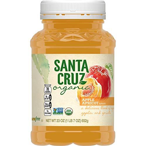 Santa Cruz Organic Apple-Apricot Sauce, 23 oz