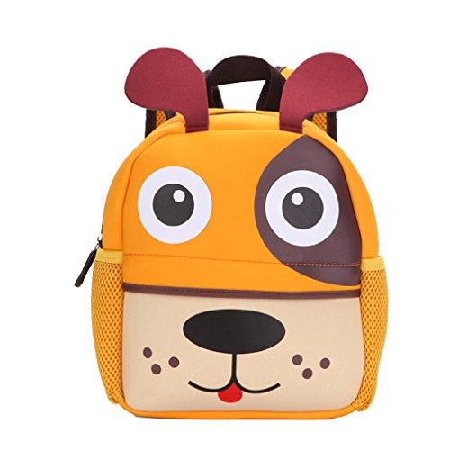 Yeelan Bolsa de escuela impermeable / mochila para niños (perro)