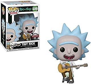 POP Action Figure Animation: R&M - Tiny Rick w/ Guitar (Exc)