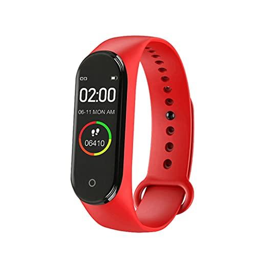 SKTE Reloj Deportivo Inteligente para Hombres Y Mujeres, Monitor De Pulsera Impermeable Multifunción (Color : C)