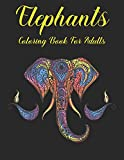 Elephants Coloring Book for Adults: Elephants Designs and Relaxing Mandala Patterns for elephant lovers